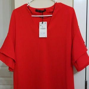 Zara dress. Size M. NWT